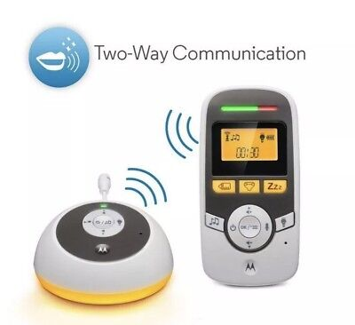 Motorola MBP161TIMER Digital Audio Monitor with Baby Care Timer