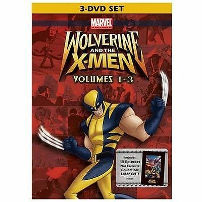 Wolverine and the X-Men: Vols. 1-3 DVD