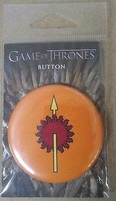 Game Of Thrones Pinback Button : Martell  2018