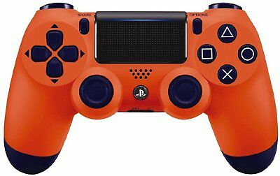 Sony PS4 Dualshock Wireless Controller - Sunset Orange (Special Edition) NEW