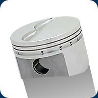 261496 SRP Pistons 390/428 FE Flat Top 416 Ford 4.080 Bore 10.9:1 Compression