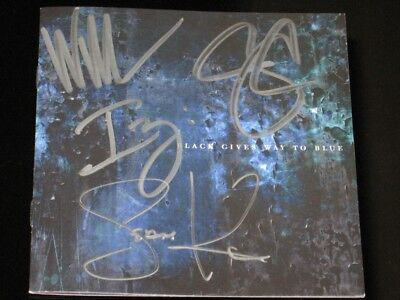 "Alice In Chains - ""black Gives Way To Blue"" Signed Cd!"