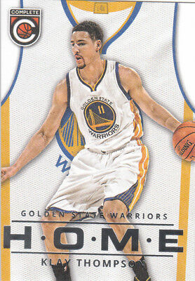 new style 2a66f d7002 2015-16 PANINI COMPLETE KLAY THOMPSON Home Jersey #22