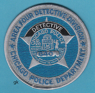 Chicago Illinois  Police Dept.  Detective Division Shoulder Patch
