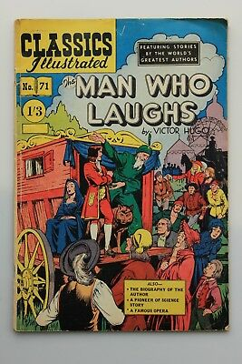 British Classics Illustrated Comics  #71 ( HRN 125 ) Man Who Laughs