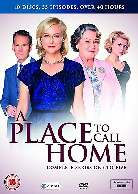 A Place to Call Home: Season Series 1, 2, 3, 4 & 5 DVD Box Set New & Sealed R4