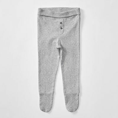 NEW Baby Organic Cotton Pants With Feet Size Tiny Baby