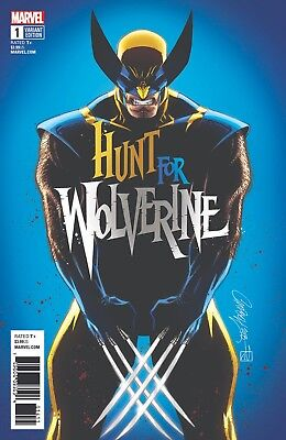 Hunt For Wolverine 1 J Scott Campbell Calgary Fan Expo Variant Nm Pre-Sale 4/25