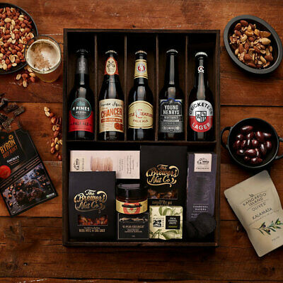 The Hamper Emporium – Beers of Australia Hamper Keepsake Gift Box James Squire