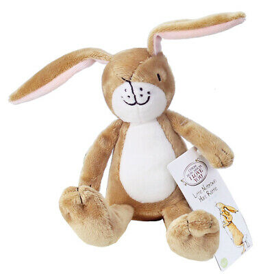 Guess How Much I Love You Little Nutbrown Hare Plush Rattle Newborn Baby Toy