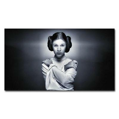 """American Actress Princess Leia Star 14/""""x28/"""" Poster MX18133 Carrie Fisher"""
