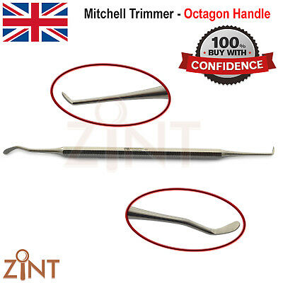 Mitchell Trimmer Osteocarver Pathological Tissue Remover Tooth Extraction Lab CE