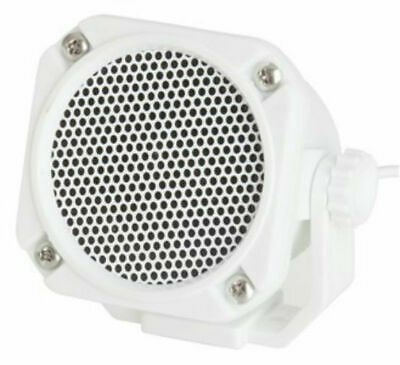 Marine Naval Mini Communications Speaker (IP65 Resistant) For Boat, Yacht, 4WD