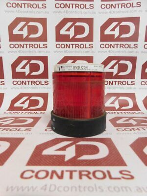 Telemecanique XVB C34 Red Steady Unit Light - Used
