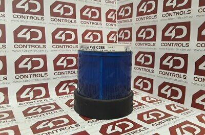 Telemecanique XVB C2B6 Blue Steady LED Light Unit - Used