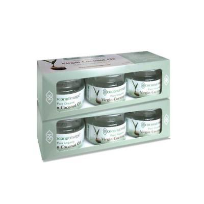 Coconut Oil Trio Pack of 3 x 25ml Jars