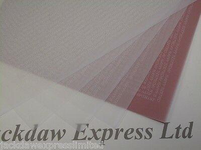 Printed Vellum White Happy Birthday 25 Sheets A4 100gsm Cardmaking AM498