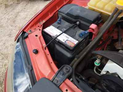 2007 Ford Falcon BF MKll Battery Tray #B247