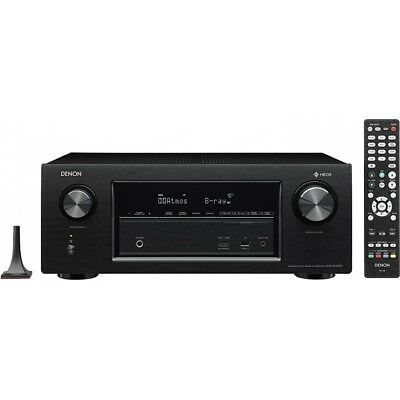 Denon AVR-X2400H 7.2 AV-Receiver Heos Dolby Atmos Surround WLAN Bluetooth HDMI