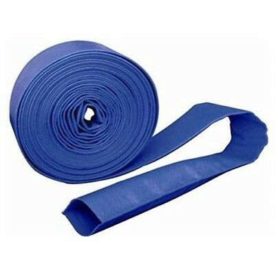 "3"" Layflat 76mm Layflat PVC Lay flat Blue Water Delivery Hose"