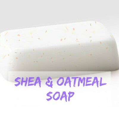 Shea Butter with Oatmeal Melt and Pour Soap