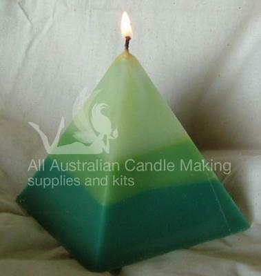 Pyramid PVC Candle Mould