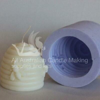 Beehive - large silicon candle mould 6.5cm