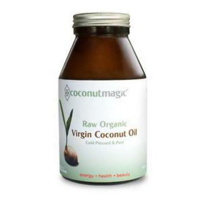 Coconut Oil 500ml Jar Certified Organic Unrefined Raw Virgin Cold Pressed Pure