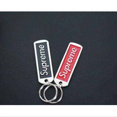 Supreme Key chains SUP pendant key ring accessories Backpack Jewelry Lanyard U