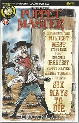 PUPPET MASTER CURTAIN CALL (2017) #3 LIMITED COVER Back Issue (S)
