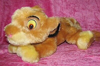 "Disney Store Exclusive The Lion King ~ SIMBA CUB ~ 14"" Vintage Soft Plush Toy"