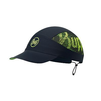 Gorra Pack Run Buff negro estampado