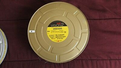KODAK 65mm MOTION PICTURE FILM- 1000' OF 250D / 5205 UNOPENED CAN