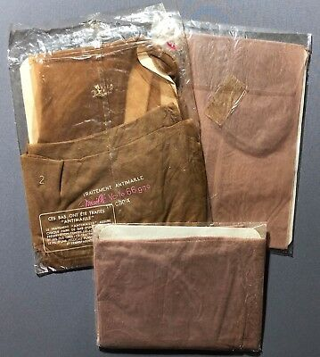 **LUCKY DIP** AUTHENTIC VINTAGE STOCKINGS SEAMED, Cuban Heel 3 pairs, NOS