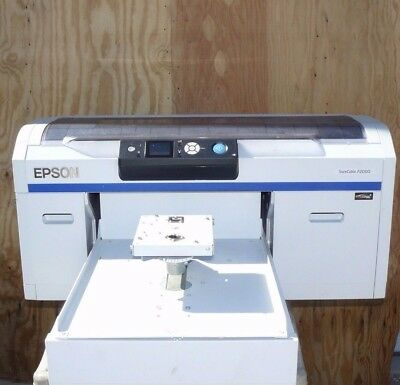 Epson Surecolor Sc-F2000 Series Direct-To-Garment Digital Printing White Edition