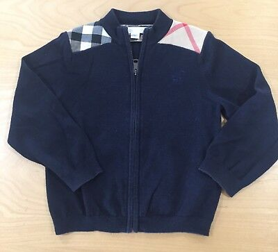 Authentic Burberry Boys Sweater Size 3Y
