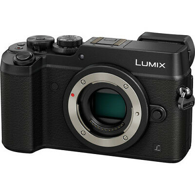 Panasonic Lumix DMC-GX8 Mirrorless Micro Four Thirds Digital Camera - Black