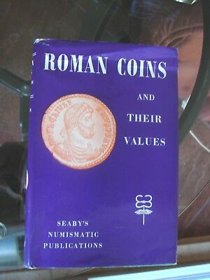 Roman Coins and Their Values by Seaby More coins listed than you could ever Want