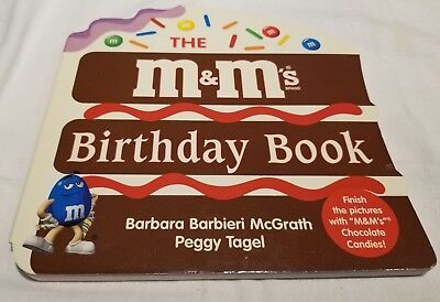 The M&M's Birthday Book