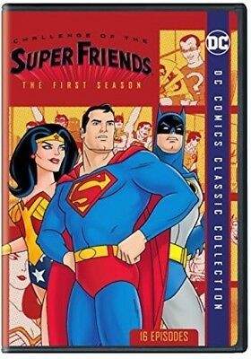 Challenge Of The Super Friends: First Season DVD