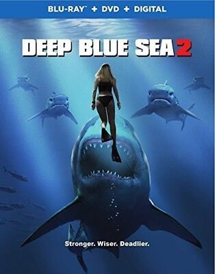 Deep Blue Sea 2 [New Blu-ray] With DVD, Widescreen, 2 Pack, Ac-3/Dolby Digital