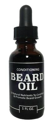 Mens Beard Growth Oil - Premium Beard / Mustache Conditioning Oil,  1 oz/30ml