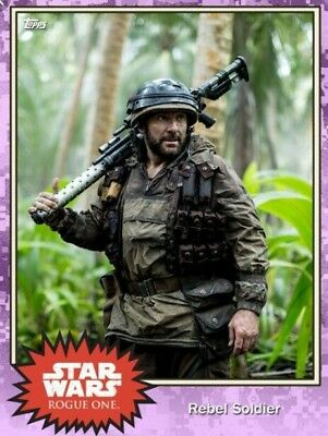 Star Wars Rogue One Cards (Topps) In Italiano