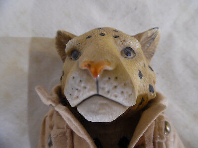 Vintage Ceramic Leopard Doll China Head Doll Type