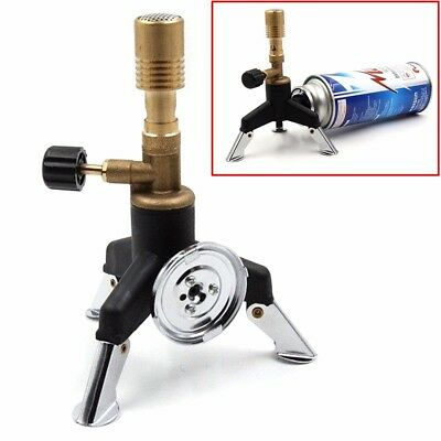 Copper Lab Gas Bunsen Burner Lamp for Lab Heating Transfer Adapter adjustable