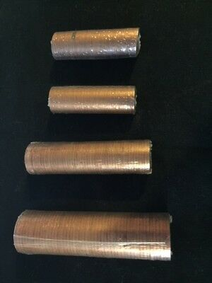 1971 Decimal Half Penny 1/2p coins Mint Sealed - Roll of 50 coins Uncirculated:-