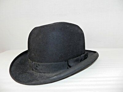 CAPPELLO BORSALINO Tg7 1/8 GRAND PRIX PARIS 1900 MADE IN ITALY SOMBRERO CHAPEAU