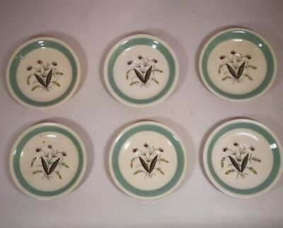 Alfred Meakin Hedgerow 6 X Saucers