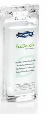 Delonghi Coffee Maker Bean To Cup Machine EcoDecalk Cleaner Descaler 1 Sachets