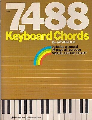 Piano Keyboard Chord Chart A4 New And Easy To Use 499